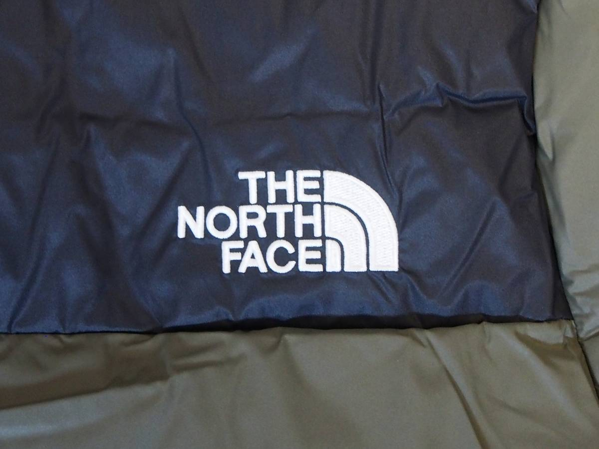 【USA購入、未使用タグ付】ノースフェイス UX ダウンジャケット M グリーン The North Face UX Down Parka TNF BLACK/NEW TAUPE GREEN_画像4