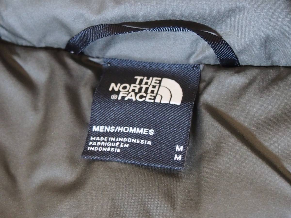 【USA購入、未使用タグ付】ノースフェイス UX ダウンジャケット M グリーン The North Face UX Down Parka TNF BLACK/NEW TAUPE GREEN_画像8
