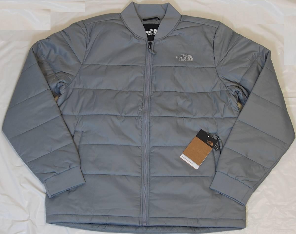 【USA購入、未使用タグ付】ノースフェイス 中綿ジャケット Lサイズ グレー The North Face Pardee Jacket_画像1