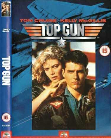 『トップガン』トム・クルーズ 国内未発売 英DVD IMAX仕様 4:3フルスクリーン版 オマケ付き 通常のプレイヤーで日本語で楽しめます!_画像1