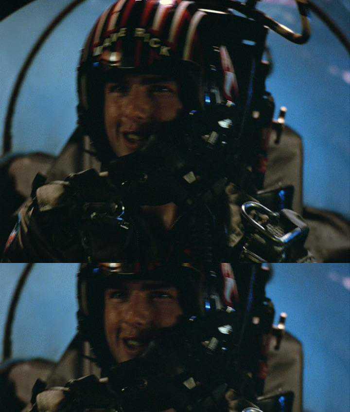 『トップガン』トム・クルーズ 国内未発売 英DVD IMAX仕様 4:3フルスクリーン版 オマケ付き 通常のプレイヤーで日本語で楽しめます!_画像2