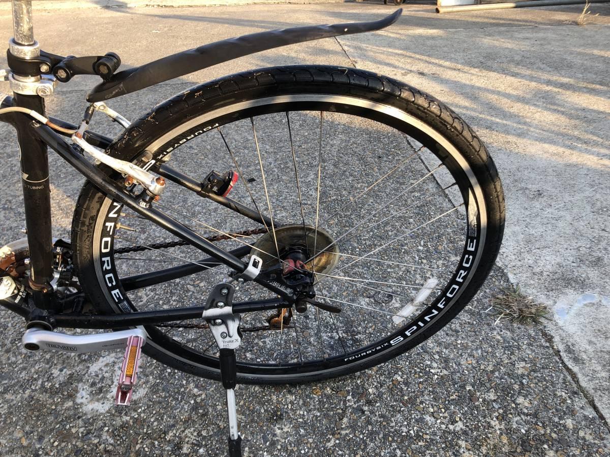 a160 ジャイアント GIANT GLIDE クロスバイク 自転車 700×38C 現状品 錆び多数 要メンテ(修理) 直接引き取りOK_画像9