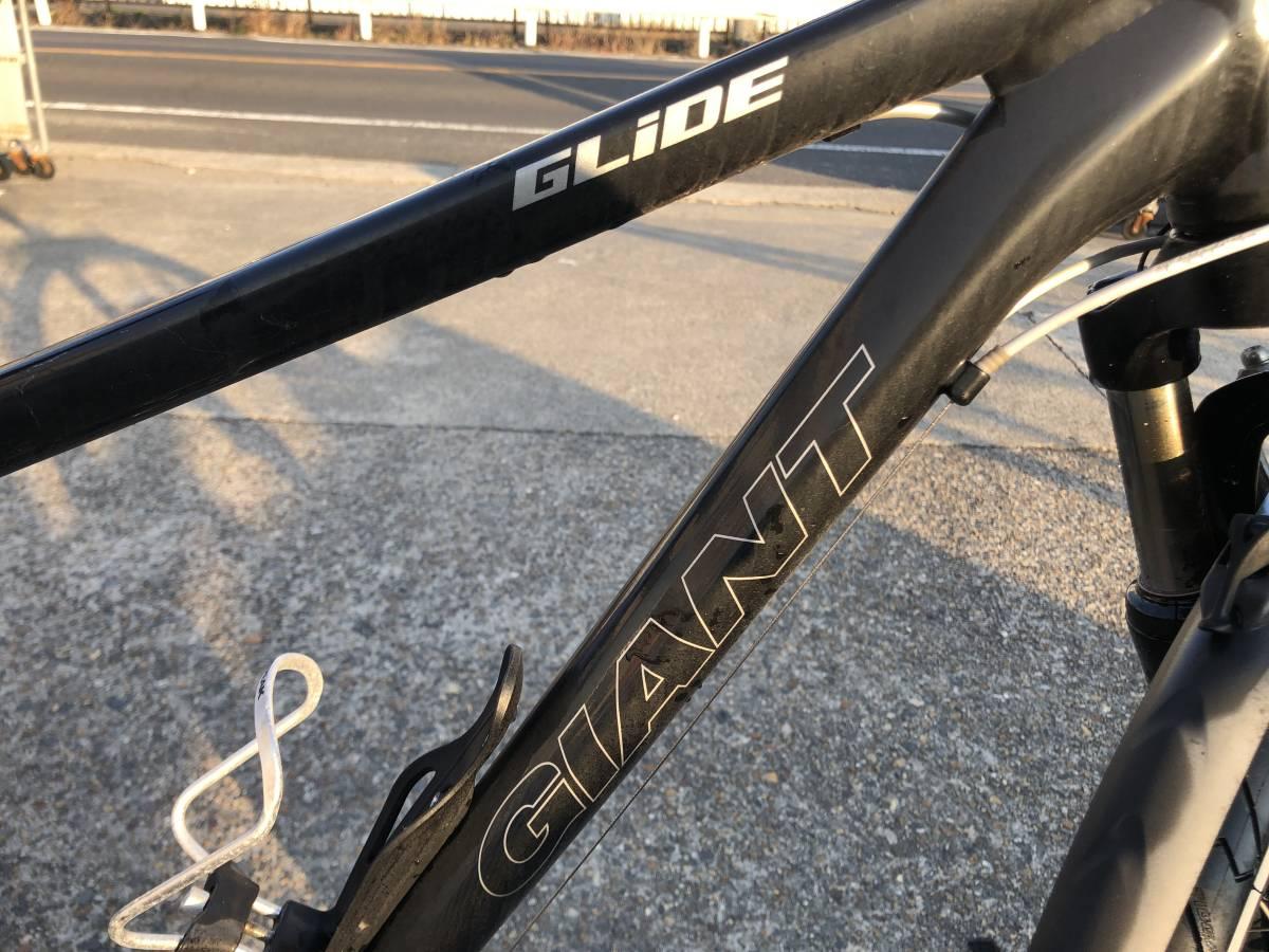 a160 ジャイアント GIANT GLIDE クロスバイク 自転車 700×38C 現状品 錆び多数 要メンテ(修理) 直接引き取りOK_画像10