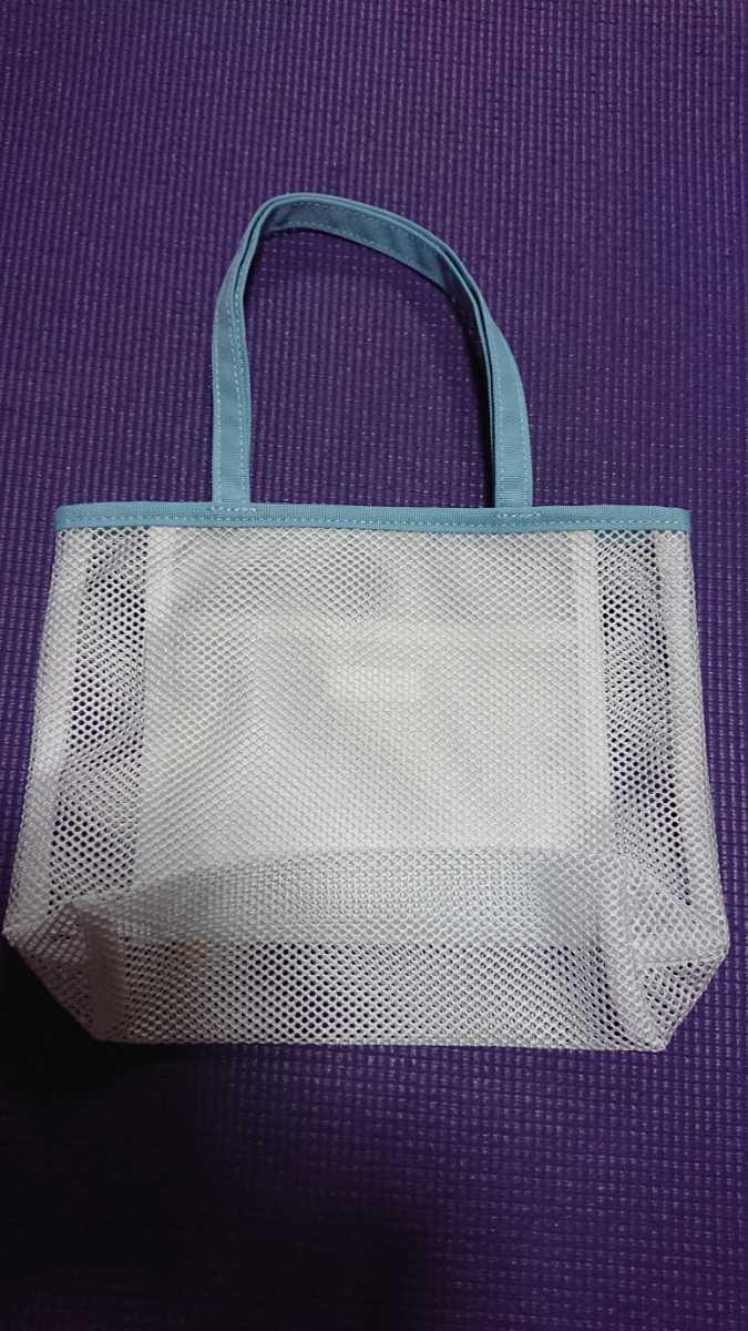 エコバッグ トートバッグ メッシュ素材 ミニトートバッグ メッシュバッグ 手さげバッグ 未使用 新品 送料無料