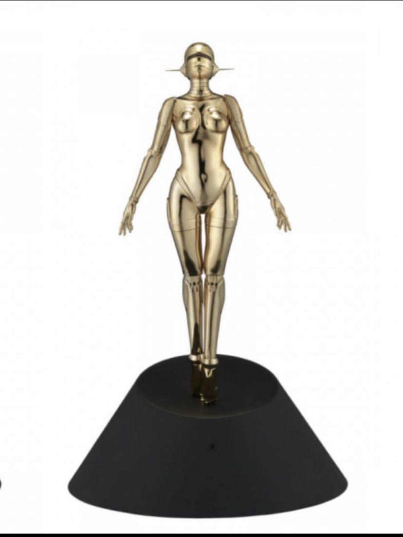 空山基 Sexy Robot floating _1/4 scale Gold_画像1
