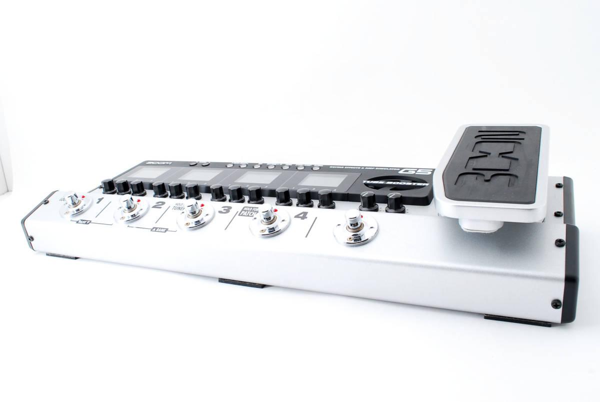 Zoom ズーム G5 Guitar Multi & Amp Simulator ACアダプタ ボックス付 [美品] #708916_画像2