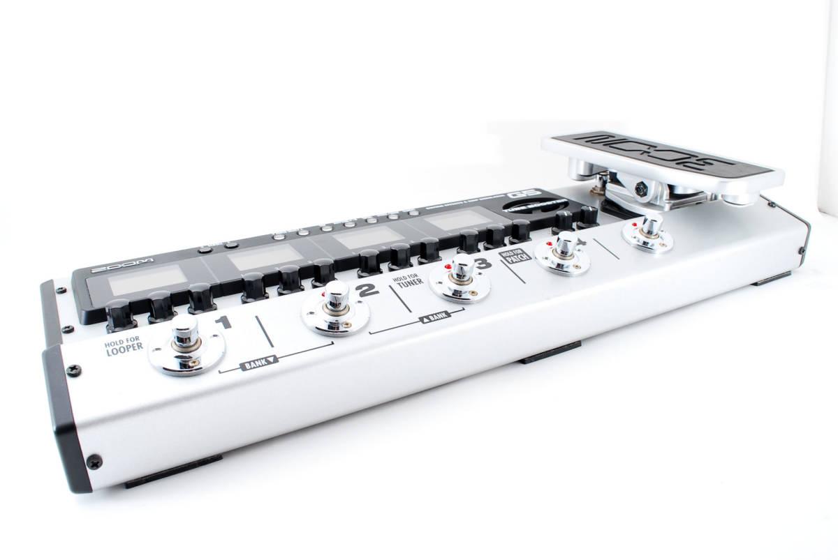 Zoom ズーム G5 Guitar Multi & Amp Simulator ACアダプタ ボックス付 [美品] #708916_画像4
