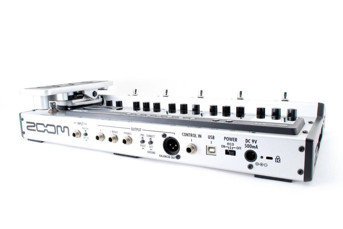 Zoom ズーム G5 Guitar Multi & Amp Simulator ACアダプタ ボックス付 [美品] #708916_画像5