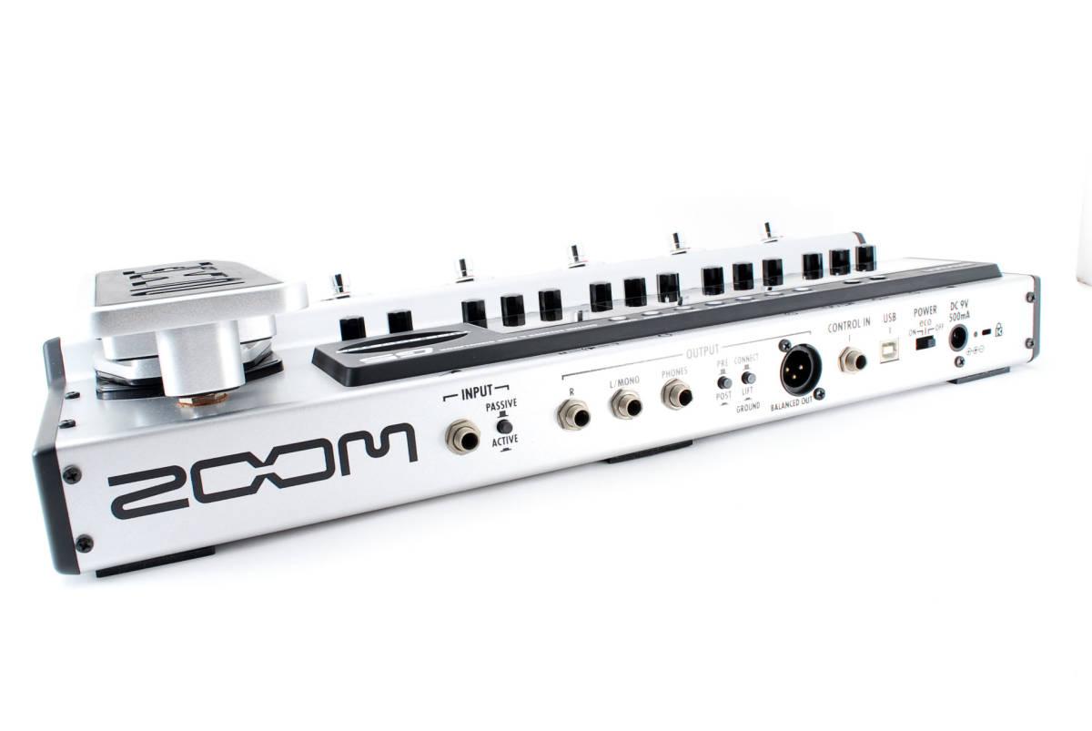 Zoom ズーム G5 Guitar Multi & Amp Simulator ACアダプタ ボックス付 [美品] #708916_画像6