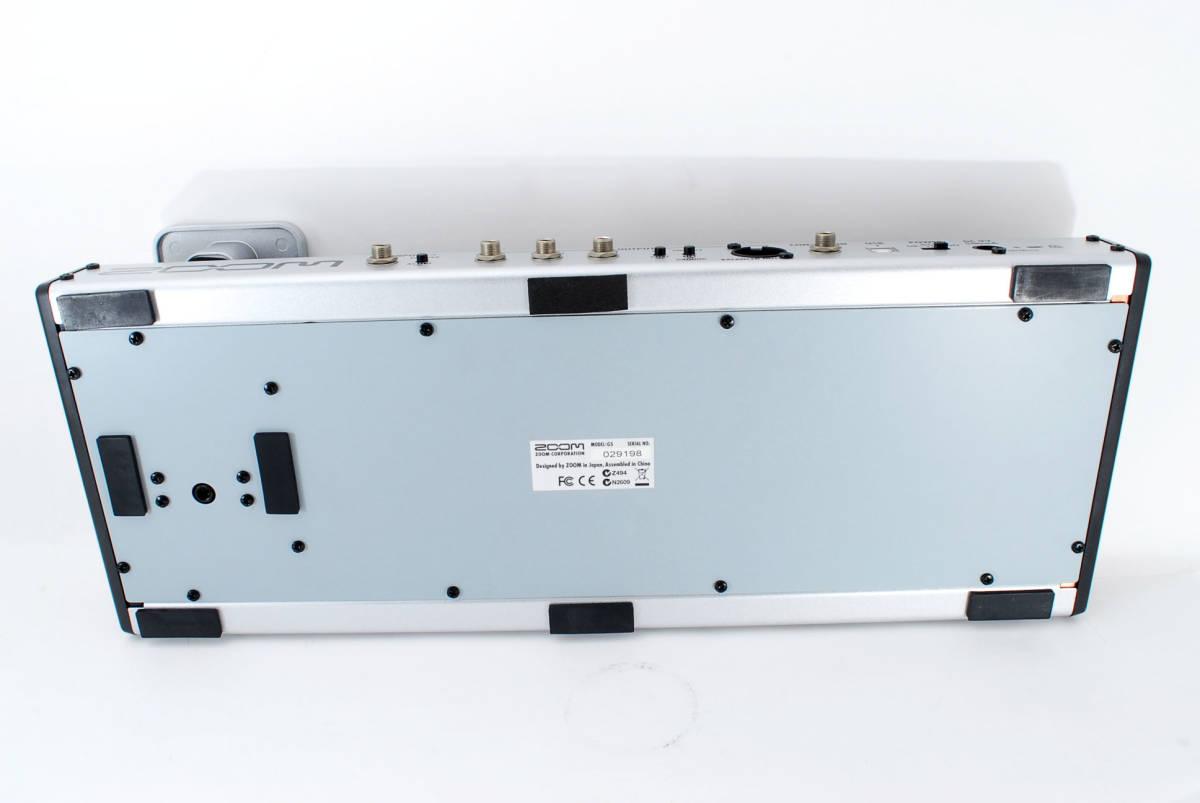 Zoom ズーム G5 Guitar Multi & Amp Simulator ACアダプタ ボックス付 [美品] #708916_画像8
