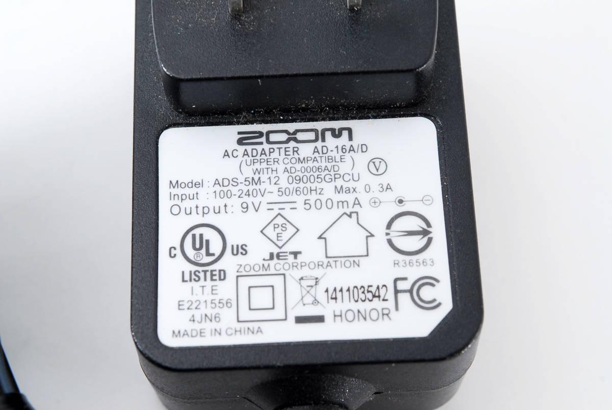 Zoom ズーム G5 Guitar Multi & Amp Simulator ACアダプタ ボックス付 [美品] #708916_画像10