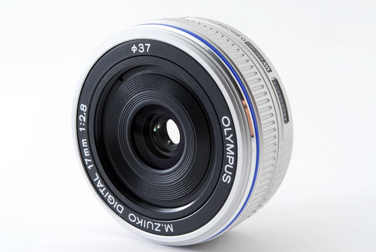 Olympus オリンパス M.ZUIKO DIGITAL 17mm f/2.8 広角 標準 単焦点 パンケーキ レンズ [超美品] #708924_画像2