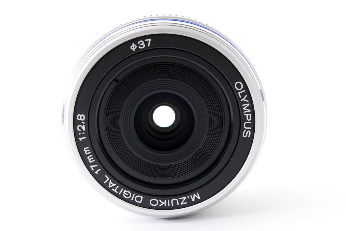 Olympus オリンパス M.ZUIKO DIGITAL 17mm f/2.8 広角 標準 単焦点 パンケーキ レンズ [超美品] #708924_画像3