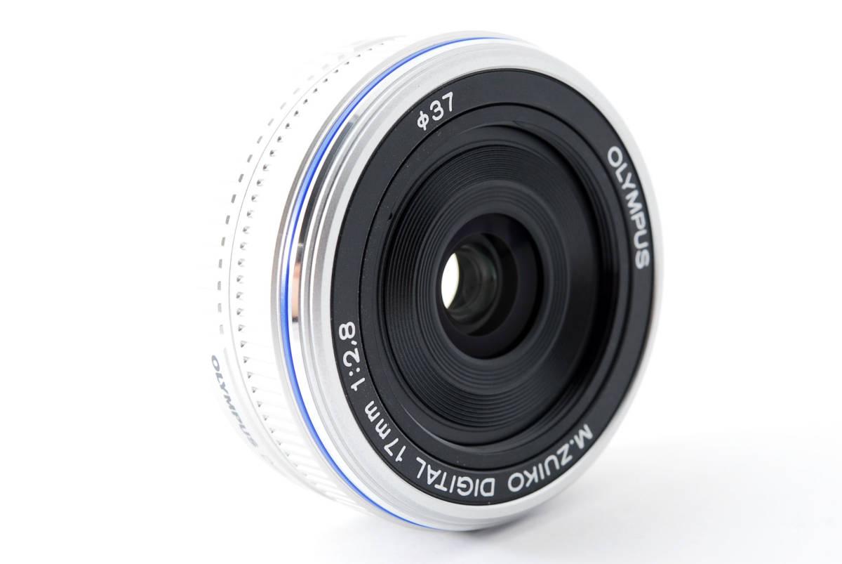 Olympus オリンパス M.ZUIKO DIGITAL 17mm f/2.8 広角 標準 単焦点 パンケーキ レンズ [超美品] #708924_画像4