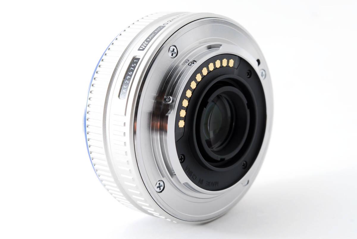 Olympus オリンパス M.ZUIKO DIGITAL 17mm f/2.8 広角 標準 単焦点 パンケーキ レンズ [超美品] #708924_画像7