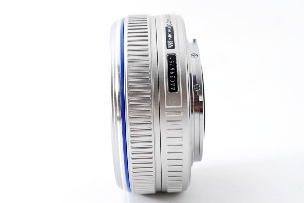 Olympus オリンパス M.ZUIKO DIGITAL 17mm f/2.8 広角 標準 単焦点 パンケーキ レンズ [超美品] #708924_画像8