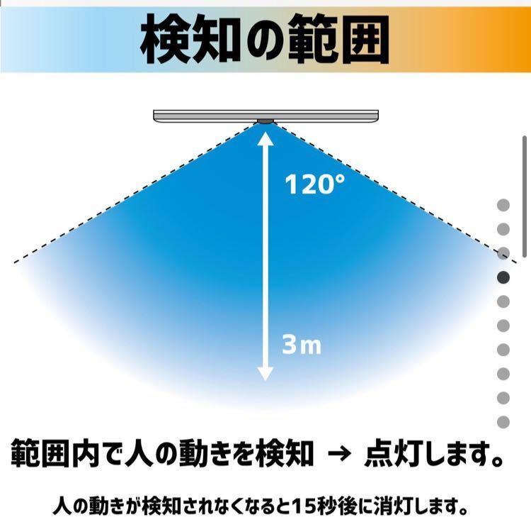 LEDセンサーライト 人感センサー ナイトライト 間接照明 電灯_画像4