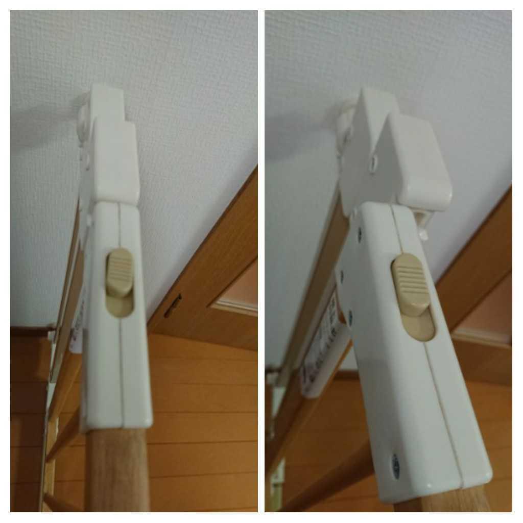 評価参照!中古!リッチェル木のオートロックゲート ベージュ 木製 ベビーゲート 69~86cm 匿名配送170cm_画像9