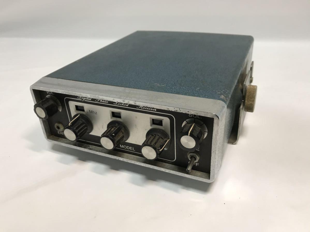 メーカー不明 無線機 受信機 R-508 通電確認 ジャンク扱い Digital Phase Locked Receiver T0120409_画像1