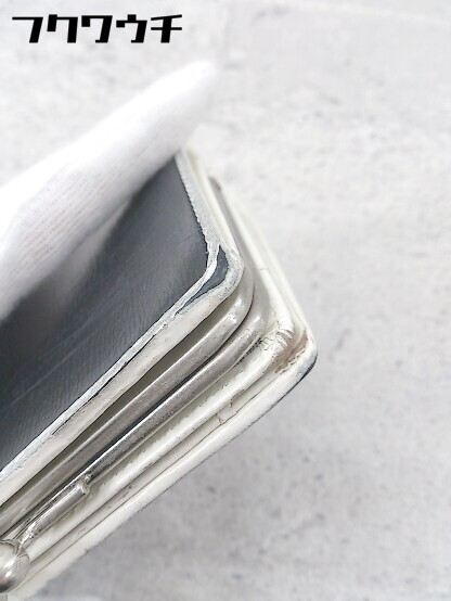 ◇ agnes b. アニエスベー がま口 二つ折り 財布 ウォレット ブラック レディース_画像5