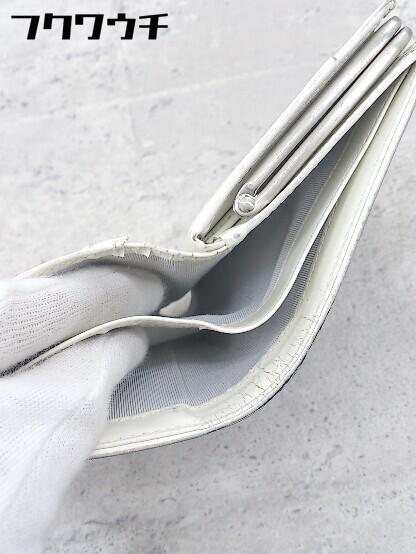 ◇ agnes b. アニエスベー がま口 二つ折り 財布 ウォレット ブラック レディース_画像6