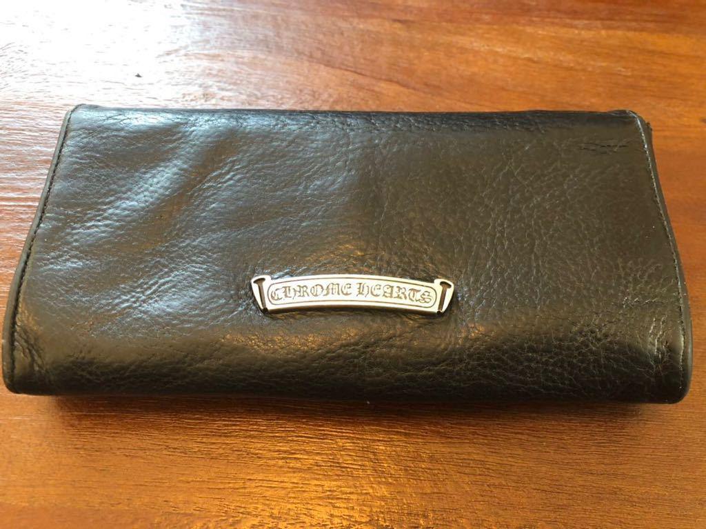 【売り切り値下げ】クロムハーツ JUDYウォレット 長財布 インボイス原本付属 _画像3
