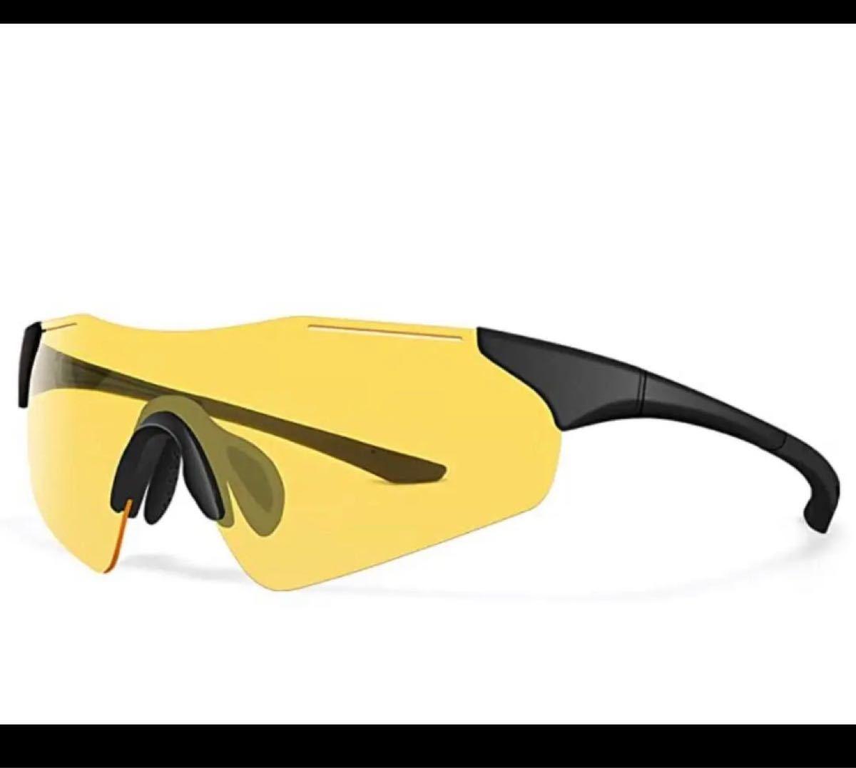 【新品】スポーツサングラス 偏光レンズ 超軽量 紫外線防止  UV400