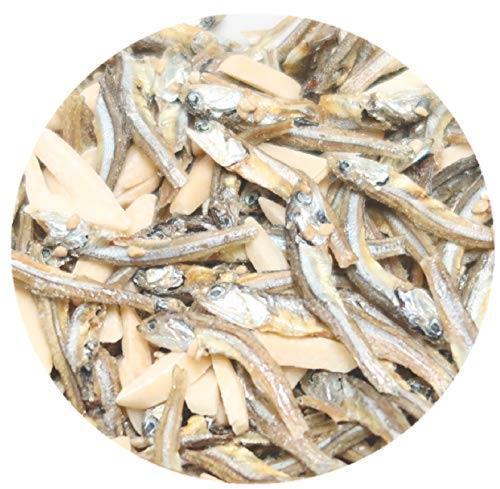 送料無料・ e-hiroya 無添加 小袋 アーモンドフィッシュ 100袋 お徳用パック 給食用 国産 小魚 チャック袋入り…_画像7