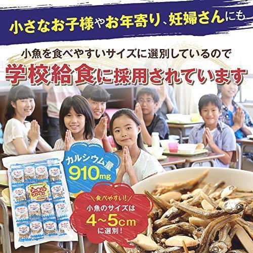 送料無料・ e-hiroya 無添加 小袋 アーモンドフィッシュ 100袋 お徳用パック 給食用 国産 小魚 チャック袋入り…_画像5