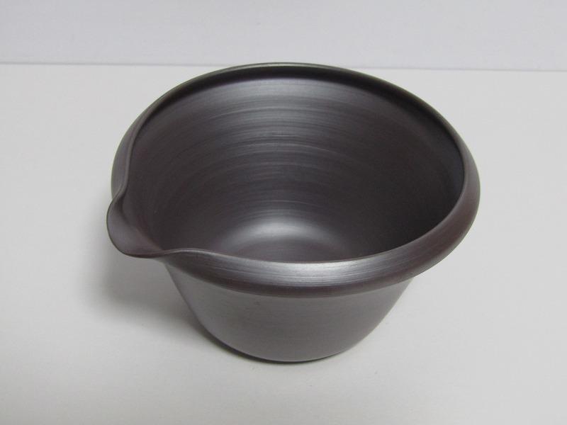 L29-583[SAN] 未使用 萬古焼 伊藤美月 造 茶器揃 共箱 横手急須 湯冷まし 煎茶碗5客 煎茶道具_画像8