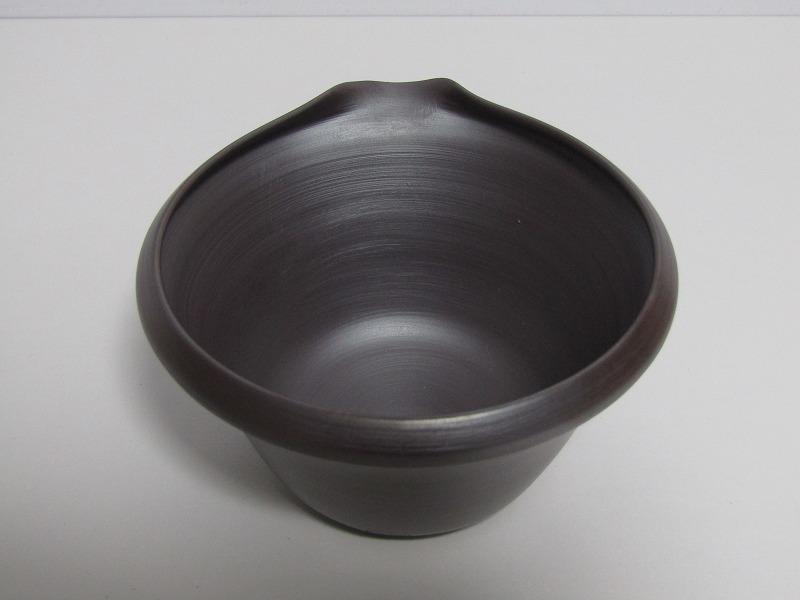 L29-583[SAN] 未使用 萬古焼 伊藤美月 造 茶器揃 共箱 横手急須 湯冷まし 煎茶碗5客 煎茶道具_画像9
