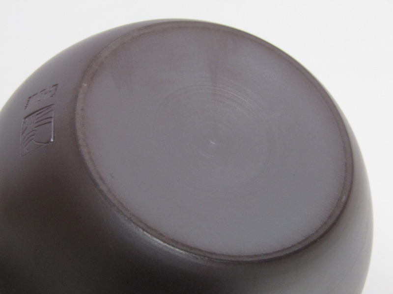 L29-583[SAN] 未使用 萬古焼 伊藤美月 造 茶器揃 共箱 横手急須 湯冷まし 煎茶碗5客 煎茶道具_画像7