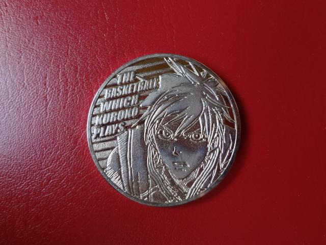 記念メダル■週刊少年ジャンプ■黒子のバスケ■銀色_画像1