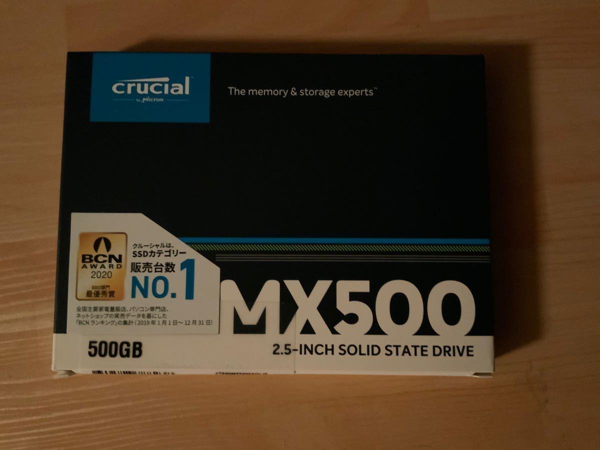 Crucial 500GB MX500 CT500MX500SSD1/JP