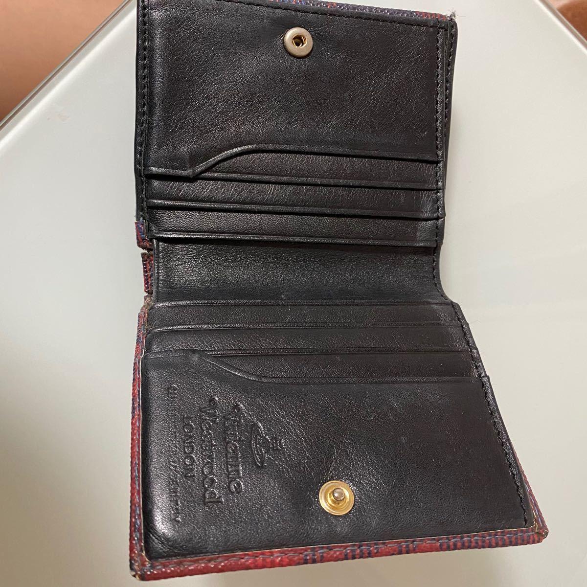 Vivienne Westwood ヴィヴィアンウエストウッド 二つ折り財布 小銭入れ