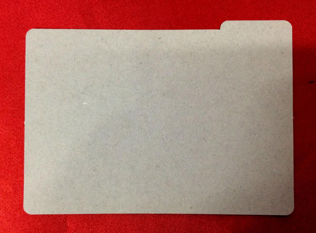 高機動幻想ガンパレードマーチ トレーディングカードゲーム -VERSION1.00- 仕切りカード 非売品 当時モノ 希少 A2400_画像2