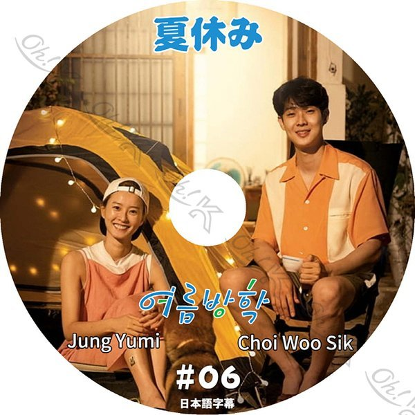 K-POP DVD 夏休み #6 日本語字幕あり Jung Yumi チョンユミ Choi Wooshik チェウシク ACTOR KPOP DVD_画像1