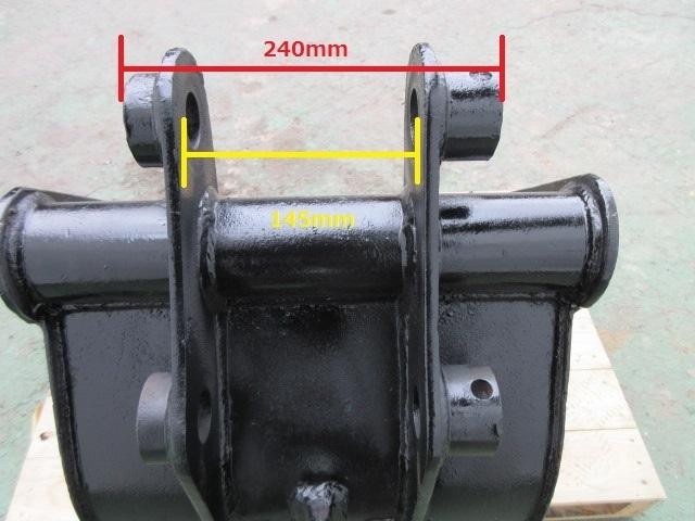 FS11 重機 用 バケット ピン径35mm 幅420mm ユンボ 建設機械_画像9