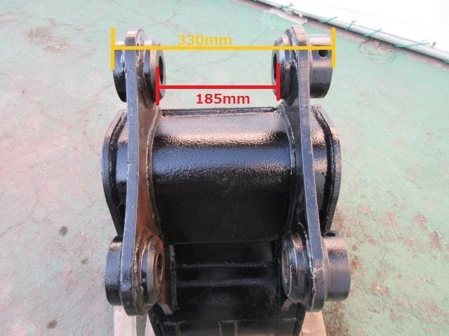 FS38 重機 用 狭幅バケット ピン径45mm 幅370mm ユンボ 建設機械 バケット_画像9