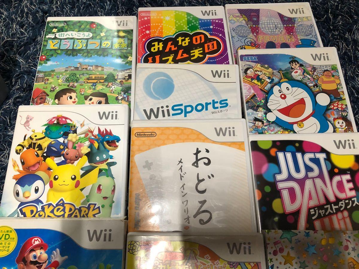 Wii本体+ソフト13本