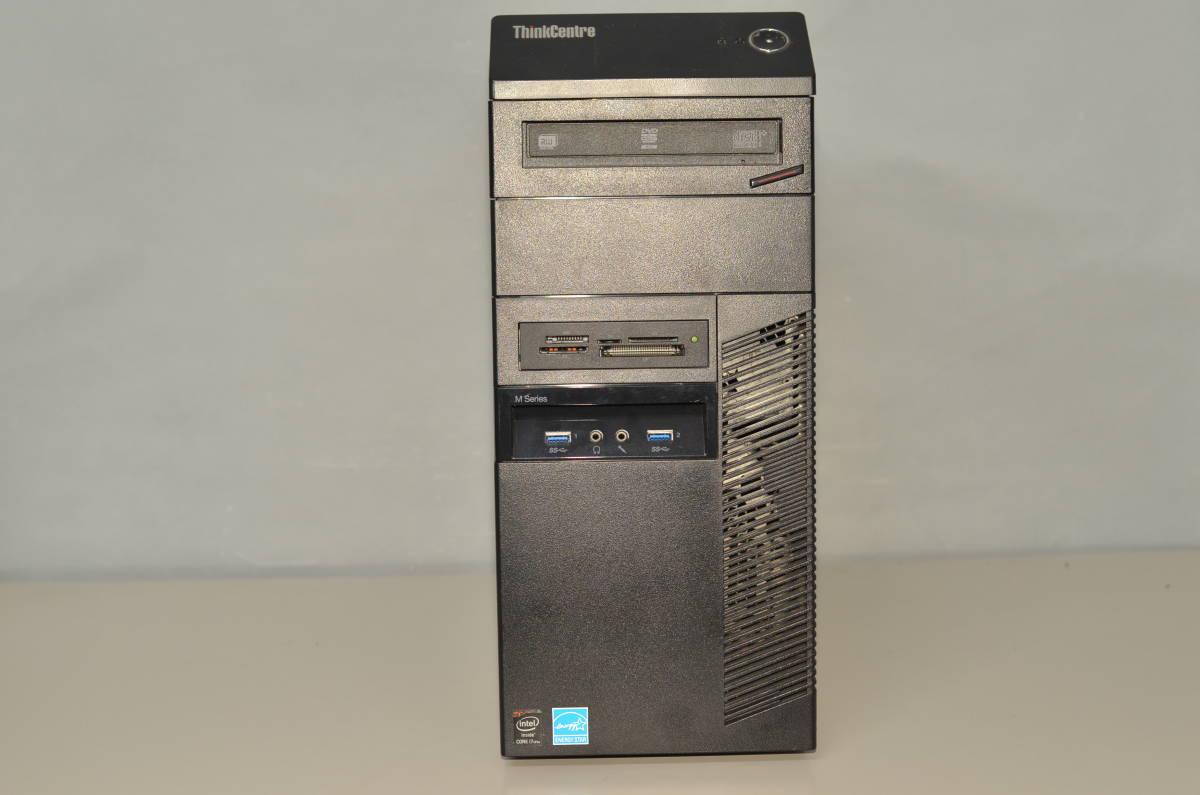 LENOVO 超高速 ゲーミングPC Windows10+office 高性能core i7-4770 新品爆速SSD256GB+HDD1TB/メモリー8GB/DVDマルチ/便利なソフト多数_画像1