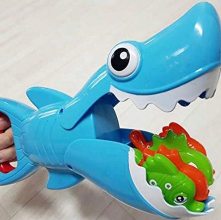 【P487】サメ釣りお風呂おもちゃビッグフィッシュキャッチ小魚子供お風呂玩具浴室水泳プール_画像3