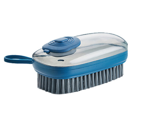 【P415】1個 洗剤が入れられるブラシキッチンシンク便利掃除道具クリーニングブラシスポンジディスペンサー食器洗い靴クリーニング_画像6