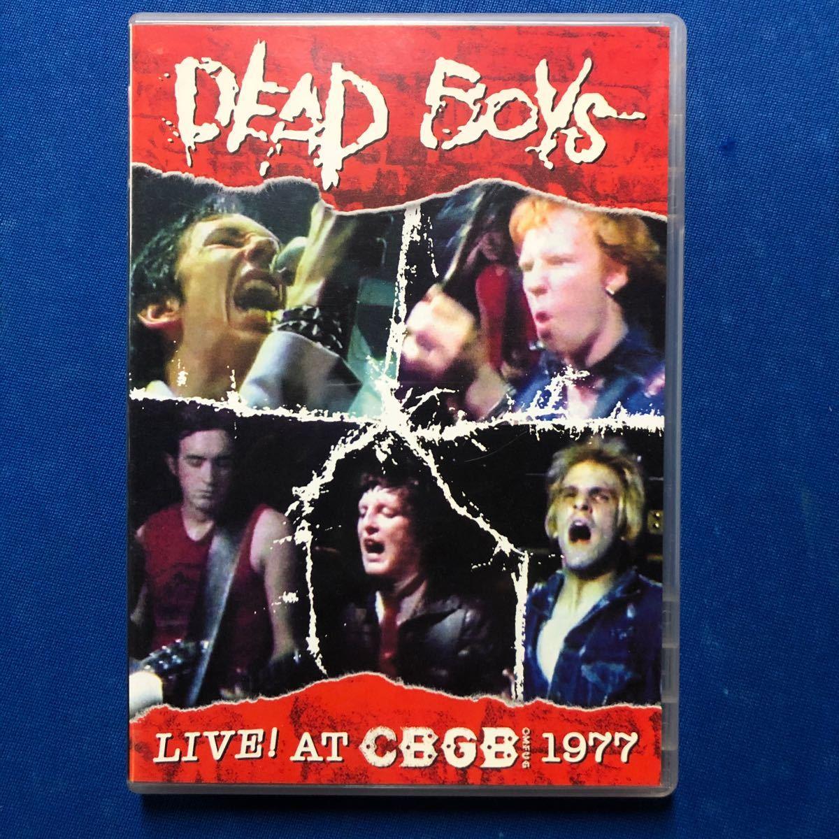 DEAD BOYS / Live! At Cbgb 1977 DVD