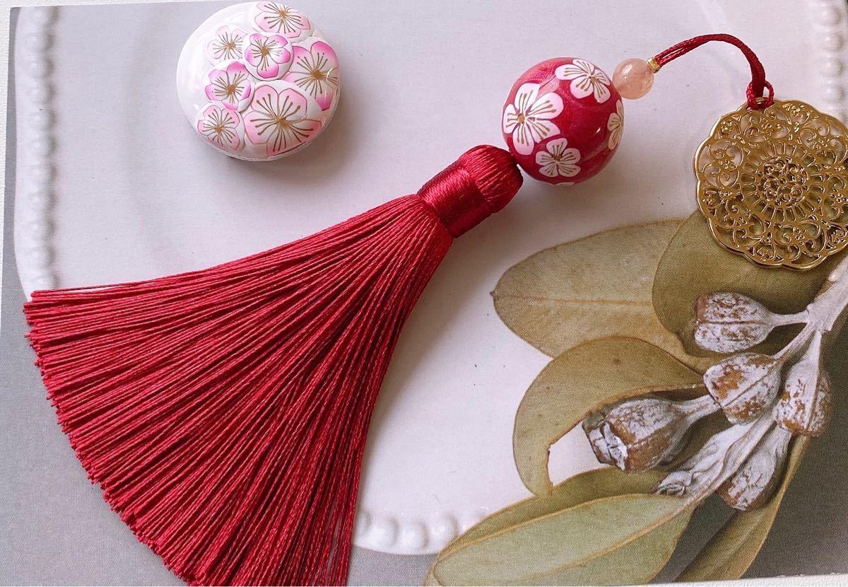 ★〜梅の花帯留め&帯飾りセット2〜★