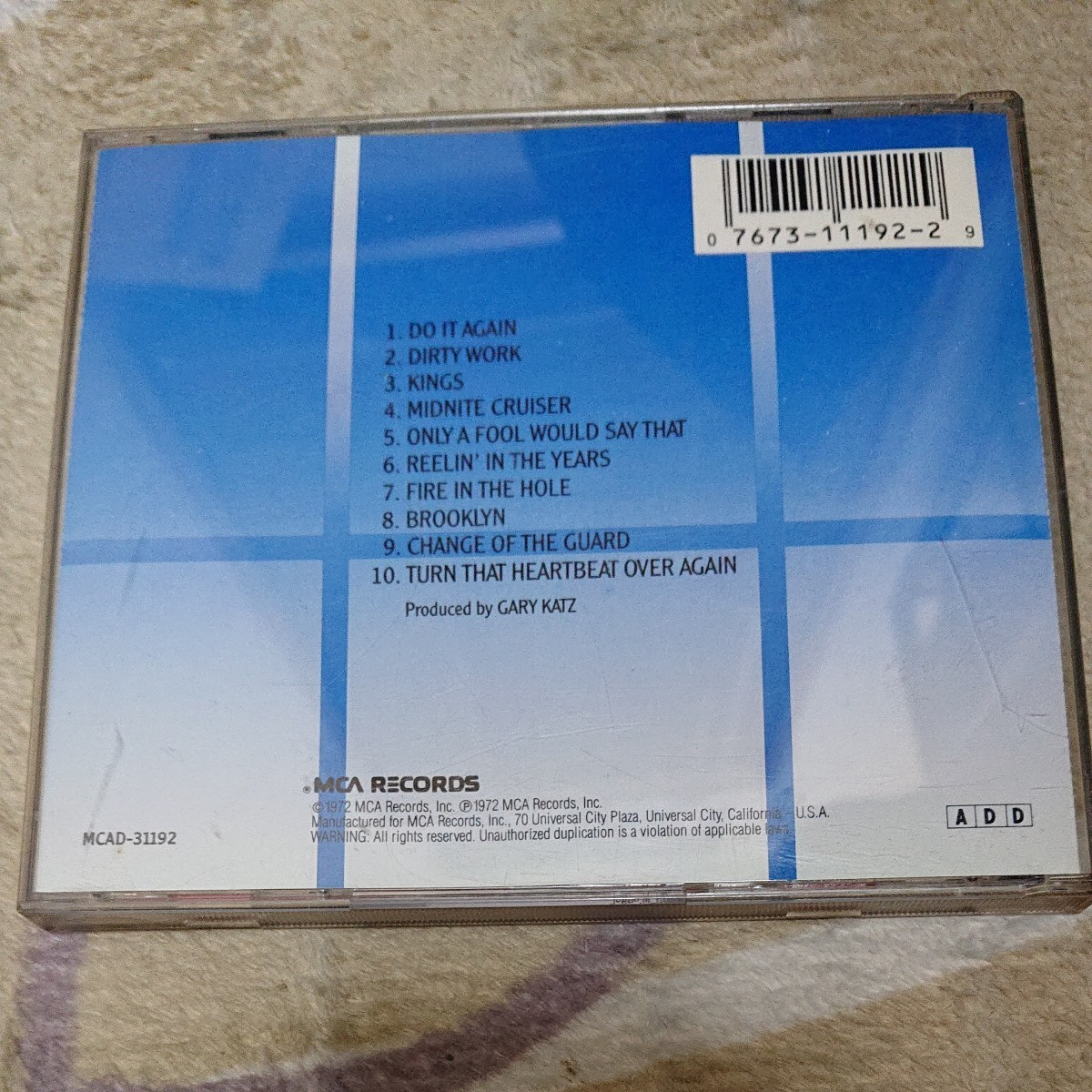 STEELY DAN can't BUY A THRILL CD 輸入盤