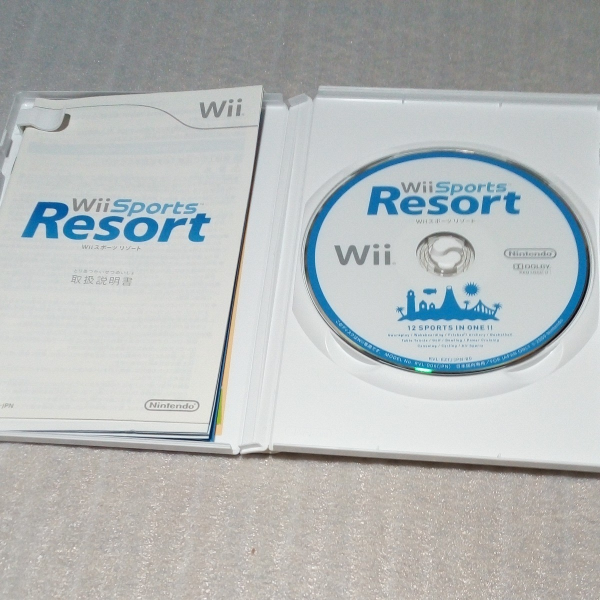 Wiiリモコン2個 モーションプラス2個 Wiiスポーツリゾート