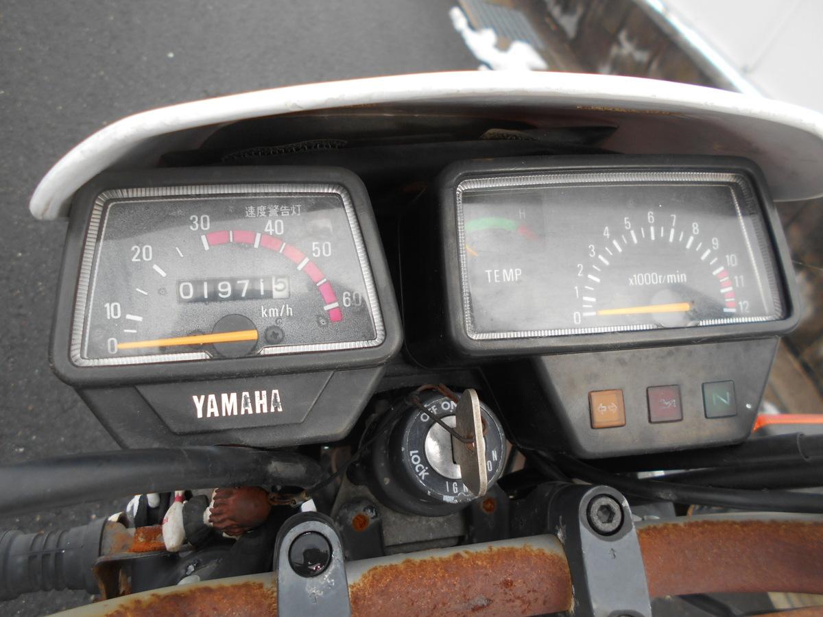 「絶版旧車メ-カ-廃盤1992ヤマハDT50LC17Wレストアベ-ス趣味のバイク マニア館 ギフトップ トレ-ディング」の画像3
