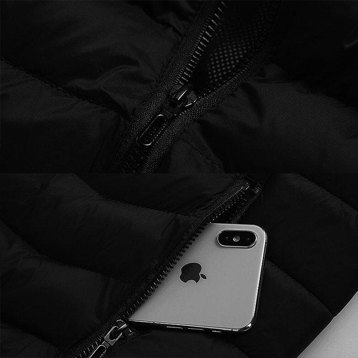 電熱ウェア 電熱ジャケット 8つヒーター 長袖 防寒着 USB加熱服 3段温度調整 秋冬用 男女兼用 水洗い可能 3色とサイズ選択S-4XL_画像4