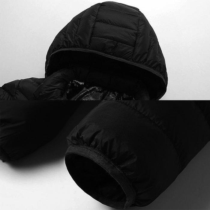 電熱ウェア 電熱ジャケット 8つヒーター 長袖 防寒着 USB加熱服 3段温度調整 秋冬用 男女兼用 水洗い可能 3色とサイズ選択S-4XL_画像3